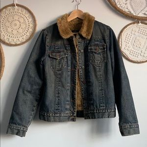 Gap sherpa Jean jacket 2002